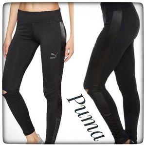 NWT ~ PUMA Lux Black Leggings